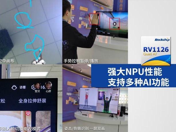 让智慧屏变身多面手!瑞芯微RV1126摄像头方案丰富AI应用