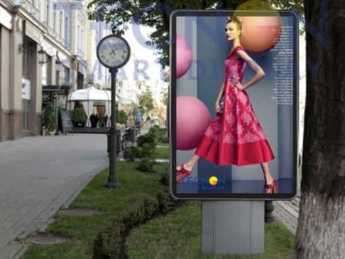 LED广告机与智慧城市发展需求相结合