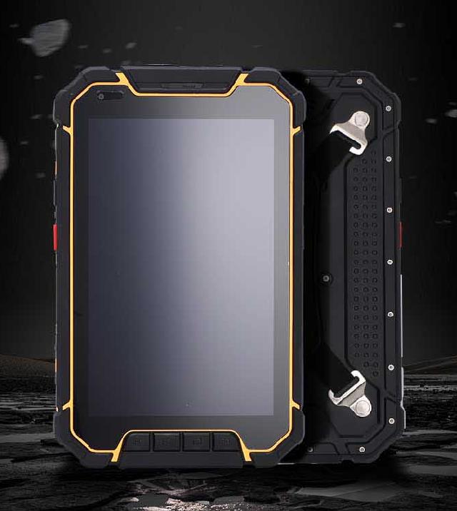 重工美学轻焊坚韧——8寸坚固型工业三防平板
