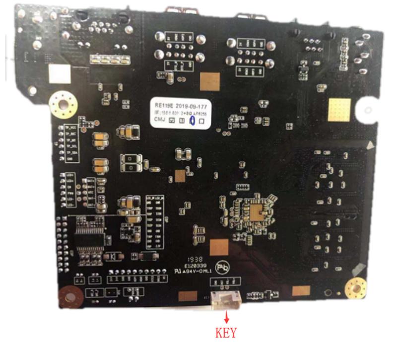 安卓解码POS机一体板细节