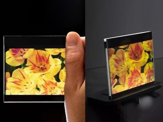 超窄边框有机LCD